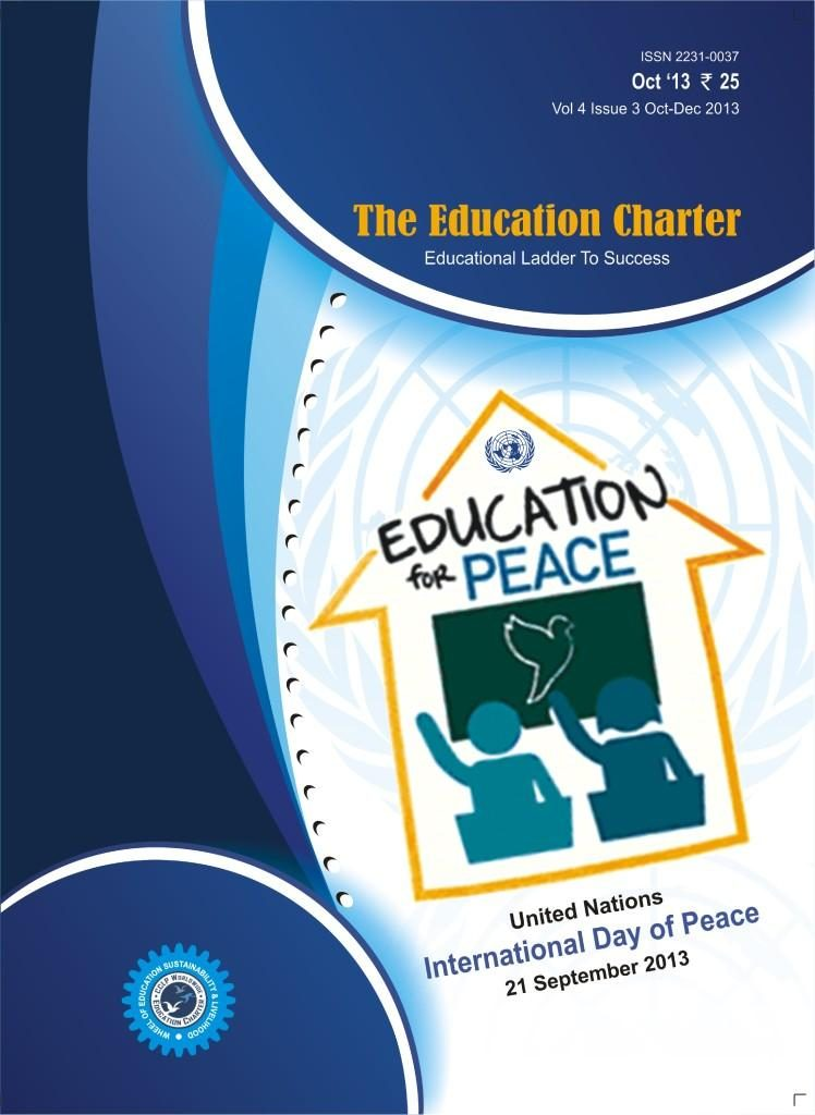 Book Cover: The Education Charter (Volume IV Issue III)