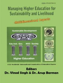 Book Cover: Managing Higher Education For Sustainability and Livelihood