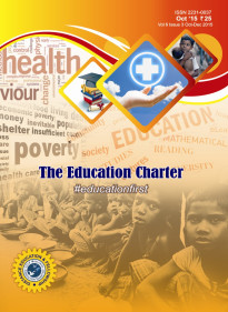 Book Cover: The Education Charter (Volume VI Issue III)